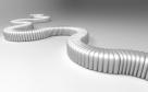 modulární designové pohovky do galerií_river snake
