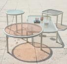 zahradní stolky dock