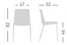 židle Jubel_rozměr