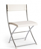 skládací plastová židle Luk Fold ivory