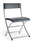 skládací plastová židle Luk Fold šedá