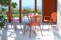 kovové židle RONDA XS