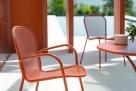 kovové židle