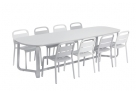 Ensemble Marumi_table large Gris cameleon-Blanc (BD)_EGO Paris