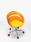 Tina.G with cushion transp. orange yellow