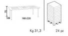 stůl maestrale_td1