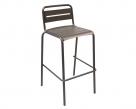 zahradní kovová barová židle STAR