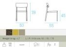 zahradní židle shine_td
