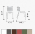 zahradní židle tatami_td