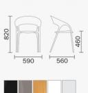 zahradní židle Gossip_td