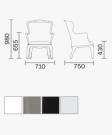 zahradní židle Pasha_td