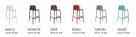 barová židle Faro_vzorník