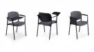 jednací židle se sklopným stolkem_step