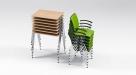 stohovatelné stoly do školících místností