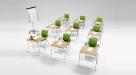 stoly do učeben