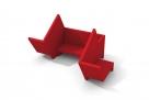 designové modulární pohovky do veřejných prostor