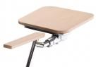 židle s psacím stolkem