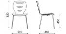 židle do kaváren_alani_rozměr