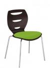 židle do kavárny s čalouněným sedákem_alani