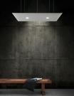 akustické stropní panely s led osvětlením