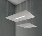 akustický stropní panel s osvětlením