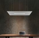 stropní akustické panely s osvětlením