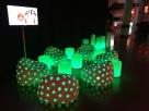 svítící nábytek_pohovky křesla airball