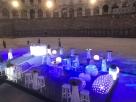 svítící párty nábytek