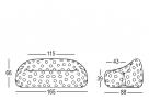 zahradní pohovka airball