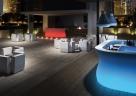 mobilní osvětlený bar