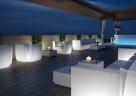 modulární osvětlené pohovky a křesla Big Cut
