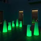osvětlený zahradní nábytek fura