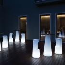 zahradní osvětlený nábytek Fura