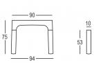stoly simple_rozměr