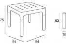 stůl simple_rozměr