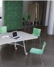 kancelářský stůl se sklopnou deskou