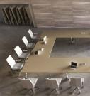 konferenční sklopný kancelářský stůl na kolečkách