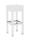 barová židle 547w umělý ratan