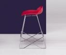barová židle Kaleidos red1