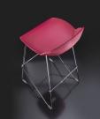 barová židle Kaleidos red2