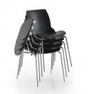 konferenční židle se sklopným stolkem_Kaleidos
