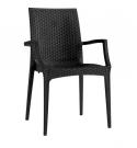 zahradní plastová židle U13