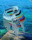 zahradní plastová židle SERENA