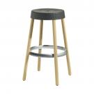 barová židle NATURAL GIM.75