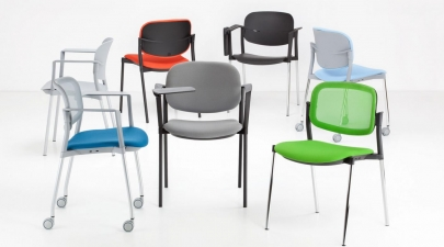 konferenční židle STEP